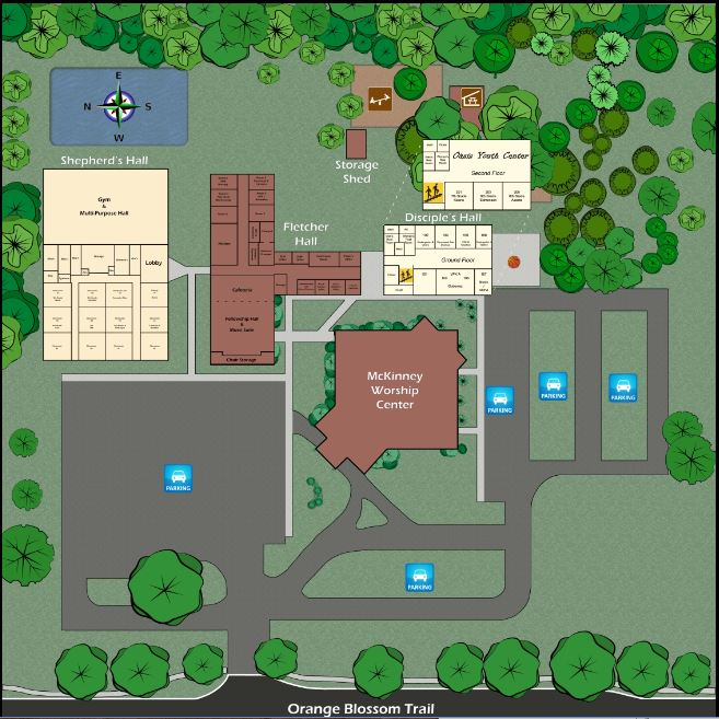 10 New Campus Map