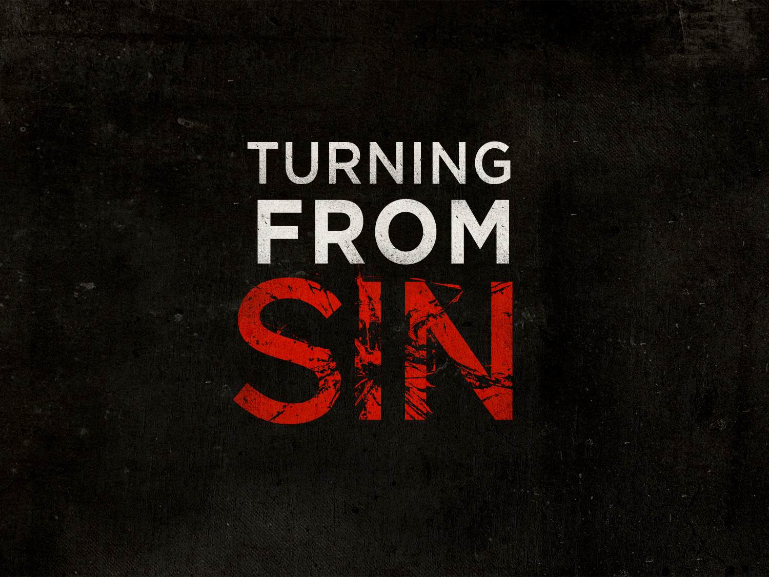 The Evil of Sin and Its Effects
